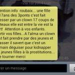 les clowns a roubaix cst des roumains mddr, nnn sah ça fais rhouf http://t.co/wkiWeSrhGP