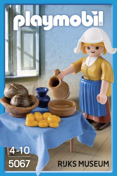 Cute: 'Het melkmeisje', van Johannes Vermeer als  PLAYMOBIL figuur. http://t.co/9PIt1ON1gu