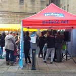 RT @huddshighstreet: #huddersfield. The fun team from @ThePulseOfWY came on Saturday to the @KirkleesMarkets promotion too.Can you see us? http://t.co/jC5PU7EYI4