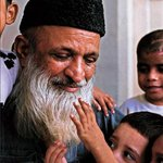 As Children we were all told to grow up to be Doctors, Engineers, Pilots etc I wish, I could grow up to be Edhi !! http://t.co/5DOsDg5yba