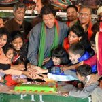 RT @omar_quraishi: Well done Imran Khan -- PTI chief celebrates Diwali with some of his partys followers in Islamabad http://t.co/e1LoTeHt5C