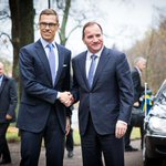 RT @FinGovernment: PM @alexstubb in a meeting with PM of Sweden, Stefan Löfven. Photos: https://t.co/MrtO8fmBZa http://t.co/7K3t1zNpAG