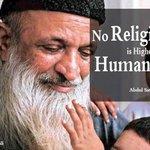 RT @cashif_khaan: No Religion is Higher than Humanity.. -Abdul Sattar Edhi #DonateToEdhi http://t.co/ArgcVxh2qb