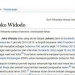 "Wikipedia Juga ""Lantik"" Jokowi Jadi Presiden RI http://t.co/DPfKjWCYoS #IndonesiaBaru http://t.co/sNWazIG7ed"