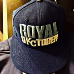 RT @MLB: This cap was hanging in Lorenzo Cains locker when he arrived for todays #WorldSeries workout at #TheK. http://t.co/TE8SMINRSg