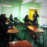 DR @camicastillo90, participa de la Escuela de ciudadanía en el liceo Bernardo oHiggins A-7, #Iquique. http://t.co/Tge2izVMrf