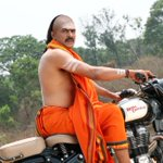 First look of Kannada superstar / maverick actor-director @realupendra from his next #Basavanna http://t.co/ADFBxH9nyT