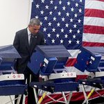 President Obama cast his vote early today for the midterms – but hes not saying who got it. http://t.co/FPNsxuaSFG http://t.co/YyTlncOdXP