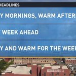 RT @TimBuckleyWX: Is this a great time of year or what? #LotsOfSun #Fall #ChamberofCommerceWeather @WFMY http://t.co/jmL5mwew9W