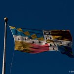 #Birmingham UK, the city #flag in strong wind #photos #civicpride @BhamCityCouncil @BirminghamCivic @BrumIsBrill http://t.co/Ezg0uDZOZA