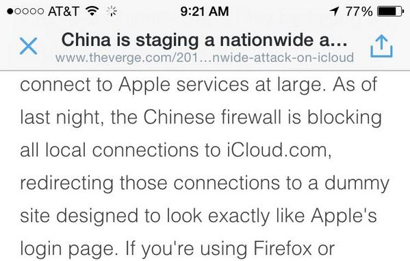 China is phishing for iCloud and Microsoft accounts... WTF http://t.co/T7lY3LBVKy http://t.co/qDkvaF1JOX