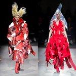 RT @fashionpressnet: コム デ ギャルソン 2015年春夏コレクション - 「薔薇と血」真っ赤に染まるアナーキーな心 http://t.co/Jt8ZPNhGK7 http://t.co/BQh8vY3PhK