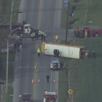 RT @NBCPhiladelphia: #BREAKING: School bus overturns in Lancaster County crash: http://t.co/TWIcn8c2CM http://t.co/kZGpsQCJKx