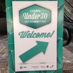 RT @MelonyRoy: Here we go! @Forbes #Under30Summit http://t.co/kLTkSy8Xds