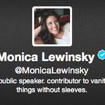 RT @chrisgeidner: Verified: @MonicaLewinsky. http://t.co/CPxIqsnoTw