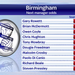 Steven Pressley at 16/1 to be the next Birmingham manager, according to Sky Sports... https://t.co/1JSvXsh585