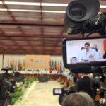 RT @PresidencialVen: #FOTO @NicolasMaduro en cumbre sobre el ébola en Cuba: hemos reaccionado a tiempo http://t.co/QWL9SyKBCH