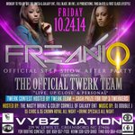 FRIDAY #TWERKTEAM #FREAKNIQ THE OFFICIAL #STEPSHOW #AFTERPARTY AT @VybzNation_GSO #NCAT #UNCG #WSSU #NCCU #FAMU http://t.co/uROWyIMsmH
