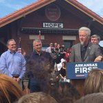 RT @RomyUSA: ????Bill Clinton Returned To His Birthplace Hope #Arkansas To Support Dem Including Mark Pryor For Senate. http://t.co/wyfl315FbY #TNTweeters