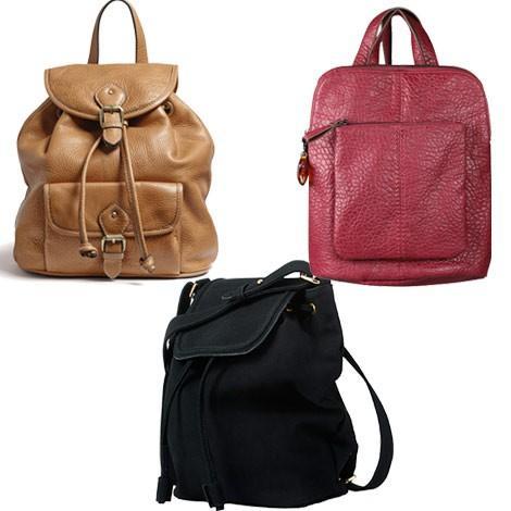 Las mochilas son tendencia esta temporada. Descubre todos los bolsos que se  llevan