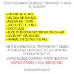 #ServicioPúblico DONATIVO QUIMIO Comunicarse sólo a los datos de la imagen. Muchas gracias @ElNacionalWeb http://t.co/8f9iu6SV4x