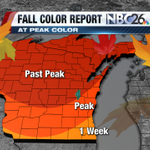 Peak Color has come and gone across much of NE Wisconsin. Email your Fall Color Pics to icontribute@nbc26.com http://t.co/Kxf2gPWeiu