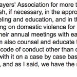 RT @CraigCustance: Gary Bettman was asked about NHLs domestic violence program in LA. Heres his full response: http://t.co/hIaDLi1v6N