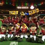 みんな!応援ありがとう! 日本シリーズがんばろー!#sbhawks http://t.co/UeNVY6o7oa