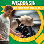 Aaron lost his wallet in #Wisconsin! 1st wallet, 1st clue: The speedometer was invented here by Mr. Warner. #GoodFit http://t.co/Sd6taMZlqj