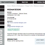 RT @Wiseman_Designs: Were a THING TO DO in #Nottingham http://t.co/ctLxmfJnIL