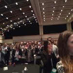 .@MonicaLewinsky gets a standing ovation from packed crowd after speaking at #Under30Summit. http://t.co/d1qATXuIfl