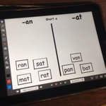 iPads are ready for our WTW sort practice in 1st grade today! #dg58learns http://t.co/QwnzPncLgw
