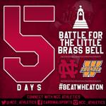 Almost that time again... #BeatWheaton #NCCFootball http://t.co/47z0LNH9kO