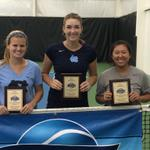 UNC sweeps both the singles and doubles titles at the Carolinas #ITARegionals http://t.co/8tNmqhMBe8