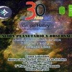 30 Años G. Halley ENTRADA GRATIS_Boletas de cortesia: 23/10/14 de 6-7pm @UISenlinea @Santandereanos_ @vanguardiacom http://t.co/PjZH2FXCUm