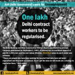 RT @AamAadmiParty: RT @HHK_aap: For the solution of Unemployment #KejriwalFirSe http://t.co/YWLB1m2Ma8