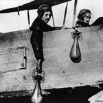 RT @BBCNewsMagazine: This is how fighter pilots used to drop bombs - by hand. http://t.co/XyxLT7tbV3