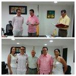 Gob @Carlosmiriarte posesionó como Magistrado del Tribunal Nacional de Ética Médica al Dr Adonis Tupac Ramírez C. http://t.co/cjPAWZNd62