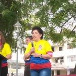 Me siento feliz luego d haber logrado vencer el cáncer, señala Alicia testimonio #ElGranEquipoContraElCancer @IESSec http://t.co/9tLTOvJnDY