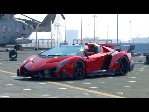► NEW Lamborghini Veneno Roadster WORLD PREMIERE http://t.co/00mVszZUSC http://t.co/JXwNekGvGs