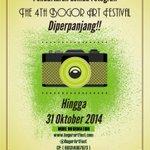 "LOMBA FOTOGRAFI NASIONAL The 4th @BogorArtFest u/ mahasiswa. Tema ""Pesona Budaya Pasundan"" daftar 50k http://t.co/kfY1l2Tsbd"