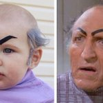 Baby Uncle Leo Halloween costume is way cuter than cousin Jeffrey. http://t.co/G0MbJL6jn5 http://t.co/8ghrYdote9