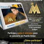 #ENSeVive y @aguacateprod te llevan a disfrutar del concierto de Maluma en #PuertoOrdaz ¡No te lo pierdas! http://t.co/DwNq8qQ9FT