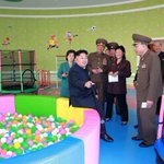 Kim Jong-un takes very weird romp in strangely empty orphanage http://t.co/GisZptb7DB http://t.co/ecYHY6MzNW