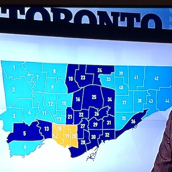 Crazy #TOpoli map again. City be split. http://t.co/ElYMpPVR2G