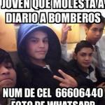 "Este ""joven""molesta insistentemente a la central de Bomberos #Antofagasta con insultos de carácter sexual... ???????? http://t.co/vSK1qdY7xR"