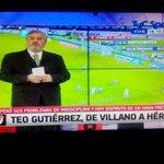 "- Teo en Racing: 41 PJ, 22 goles, - Teo en River: 43 PJ, 19 goles. En Racing era el villano, ahora el ""héroe"". http://t.co/041HeLWzE9"