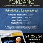 [Ganadores] El Nacional ¡Se vive! te invita a disfrutar del concierto de Yordano ¡Felicidades! http://t.co/6BmsVtkiYj http://t.co/LTNqvjUIzH