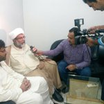 #MWM SG Allama Raja Nasir visited #AryNews #Lahore Office & Expresses Solidarity Against #PEMRA Ban on #ARYNews http://t.co/q5f4F8qL6V