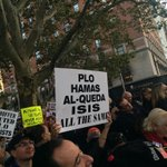 A nuanced take on the nature of terrorism here at the anti-Klinghoffer opera protest http://t.co/o9kx4D5FLP